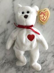 Ty Beanie Baby Brown Nose Valentino 1993 Nwt