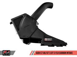 Awe Tuning For Audi C7 A6 / A7 3.0t S-flo Carbon Intake V2 - Awe2660-15022