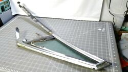68 Buick Electra 225 Convertible Drivers Vent Window Assembly Good Glass Tinted