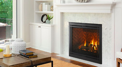 """Majestic Meridian 36"""" Direct Vent Gas Fireplace W/intellifire Merid36in Touch Ig"""