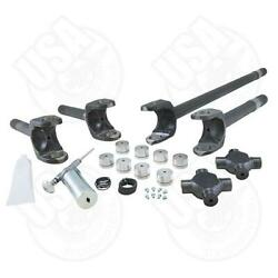 4340 Chrome-moly Axle Kit For And03978-and03979 Ford 60 Front 35 Spline Super Joints