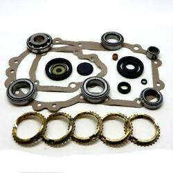 02a/02b Transmission Bearing And Seal Kit With Synchro Rings 27 Tooth