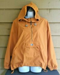 Sailing Hiking Handsome Pull-over Hooded Windbreaker Menand039s Size Medium Actra