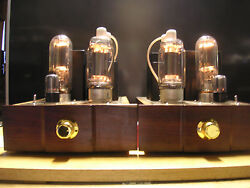 A Pair Of Vintage 813 Set 32 Rms Watts In Great Working And Nice Cosmetic Conditio