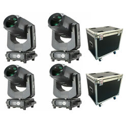 4pcs/fly Case 16+24 Prisms 260w 9r Beam Moving Head Lights Rainbow Effect In Us