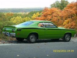 70-76 Plymouth Duster And Dart Sport Showcars Rear Spoiler