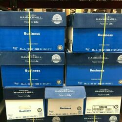 Hammermill 105740 10 Ream Of 500 Sheets 92 Bright Copy Paper 99.99 Jam Free....