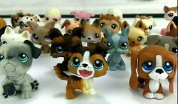 Littlest Pet Shop Assorted Dog Puppy Lot of 33 Collie Dachsund Chihuahua LPS