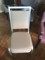 Lot Of 3 Used Banquet/stack Chairs - Mts - 1560 Available Brand New Condition