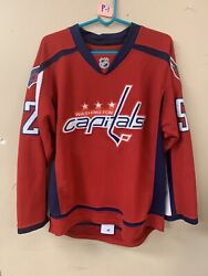 Nhl Washington Capitals Green 52 Authentic Jersey By Reebok Ccm Size 48