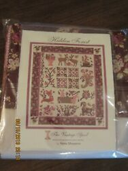 HIDDEN FOREST BOM KIT from The Vintage Spool ~ Verna Mosquera Design