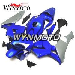 Blue Silver Covers For Honda Cbr600rr 2003 2004 Motorcycle F5 03 04 Bodywork