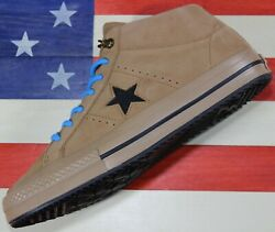 CONVERSE One Star Mid Counter Climate UNRELEASED SAMPLE Nubuck Brown Shoe Mens 9