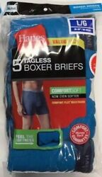 Hanes ComfortSoft Boxer Briefs Men#x27;s Assorted Colors 5 pair