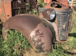 1937 Desoto Front Clip - Fenders Grill And Headlights Andmdash Willing To Part Out