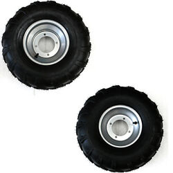 2 Pcs 19x7-8and039and039 + 2 Pcs 18x9.5-8and039and039 Wheels Rims For Atv Quad Buggy Dune Taotao
