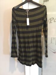 James Perse Boat Neck Tunic Top