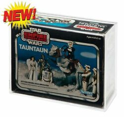 Acrylic Display Case - Boxed Vintage Taun-taun - Solid Belly Gw Acrylic Avc018
