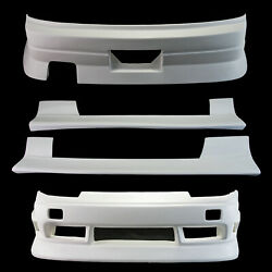 For Nissan 180sx Ur Style Frp Unpainted Full Wide Body All Body Kits 4pcs