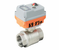 1-1/2 2 4-20ma 24vadc Motorized Electrical Control Proportional Integral Valve