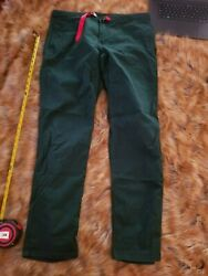 Topo Designs Mountain Climbing Pants Mens XL Forest Green