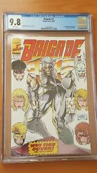 Brigade # 1 CGC Graded 9.8 comic book Image 1992