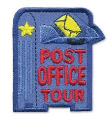 Girl Boy Cub Post Office Tour Mail Box Patches Crests Badges Scout Guide Letter