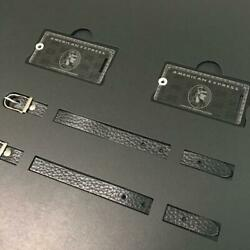 Rare American Express Centurion Black Card Limited Holders Baggage Tag In Box