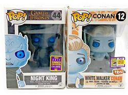 Rare Funko Pop Lot Of 2 Game Of Thrones Ww Conan Sdcc 2017 And Night King Sc 17