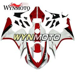 White Red Body Kits For Honda Cbr1000rr 2006 2007 06 07 Cover Motor Bicycle Hull