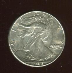 1942 Walking Liberty Half Dollar   Select Brilliant Uncirculated   Philly cp2593