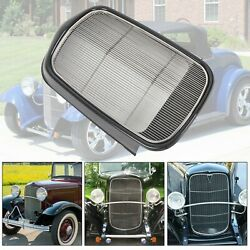 For 1932 Ford Steel Front Grille Shell+stainless Grill Without Crank Hole