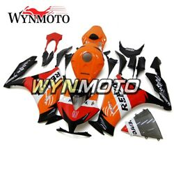 Repsol Orange Black Red Panels For Honda Cbr1000rr 2012 2013 2014 2015 Body Work