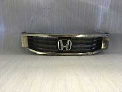 2008-2010 Honda Accord Sedan For Parts Use Front Bumper Grille Oem