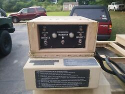 Military Mep 802a 803a 5kw 10kw Generator Synch Transfer Switch Relay Box Andcable