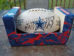 New Dallas Cowboys Full Size Display Football Great For Autographs Man Cave