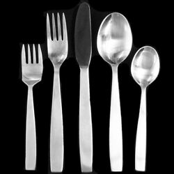 Vienna Modern By Amboss 5 Piece Place Setting Made In Austria New Never Used