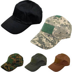 New Baseball Style Military Hunting Hiking Outdoor Cap Hat Color Variation $6.95