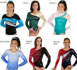 New D Gymnastics Competition Leotards By Snowflake Designs
