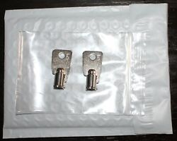 Ct1b-ct35b 2 Keys For Ace Locks Key Vintage Coke-pepsi Vending Machines
