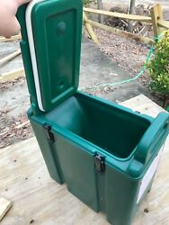 Cambro Nsf 250 Lcd Green 2.5 Gal Hot/cold Insulated Beverage Dispenser Usa Obo