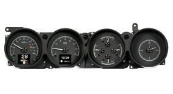 1970-74 Dodge Challenger and 1970-74 Plymouth Cuda with Rallye Dash - Black