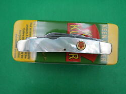 Keen Kutter Genuine Pearl Big 4blade Congress Knife 2006 Issue New Old Stock Usa