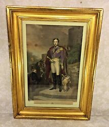 Antique Henry Sadd Engraving Of His Royal Highness Albert Of England