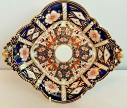 Royal Crown Derby 2451 Traditional Imari Footed Comport - Made For And Co