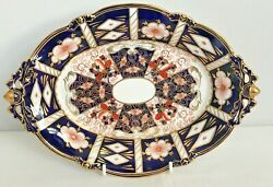 Royal Crown Derby 2451 Traditional Imari Oval Footed Comport - And Co