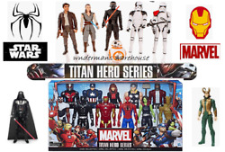 Titan Hero Series 12 Inch Figures - Marvel/star Wars/spiderman And More - New
