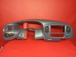 97-03 F150 Expedition Speedometer Radio Bezel Dash Trim Surround Cover GRAY
