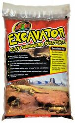Zoo Med Excavator Clay Burrowing Substrate 10LB Free Shipping