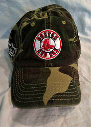 Boston Red Sox Adjustable Baseball Cap - Brand Otto Golf - Hats Off To Heroes